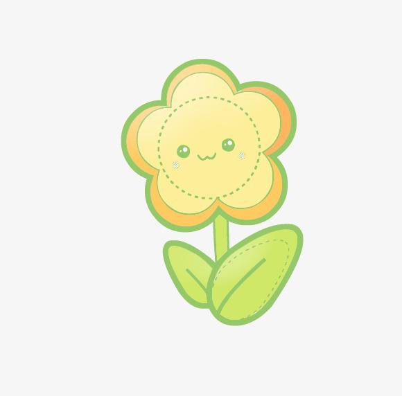 图片 > 【png】 卡通黄色小花  分类:手绘动漫 类目:其他 格式:png