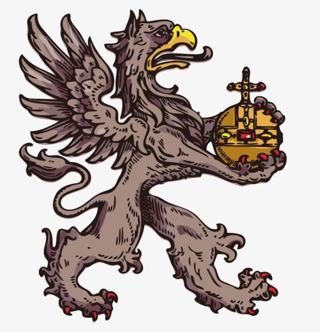 手绘贵族族徽