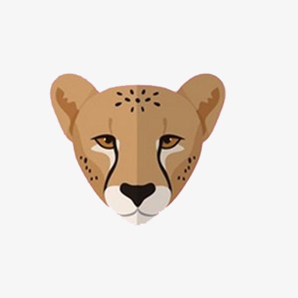 手绘狮子头素材