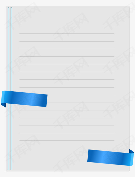 手绘边信纸素材图片免费下载 高清装饰图案png 千库网 图片编号5474173