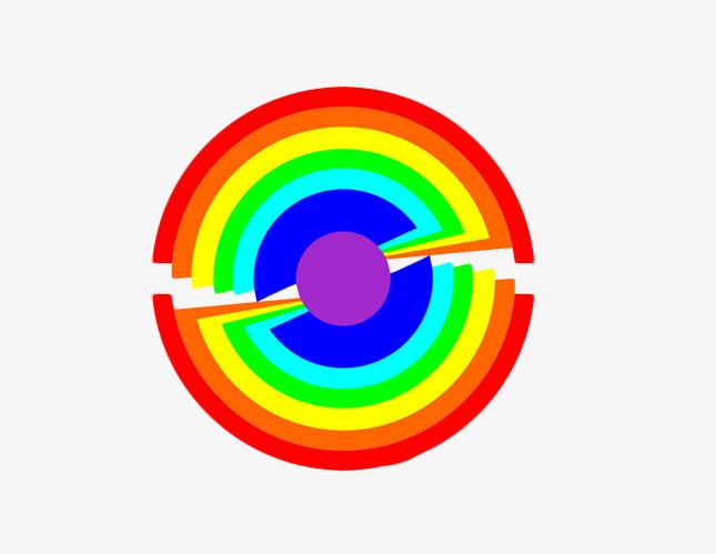 圆形圈圈图片