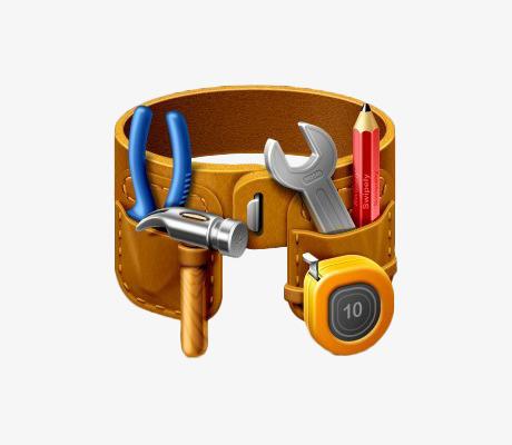 图片 > 【png】 黄色工具袋  分类:手绘动漫 类目:其他 格式:png 体积