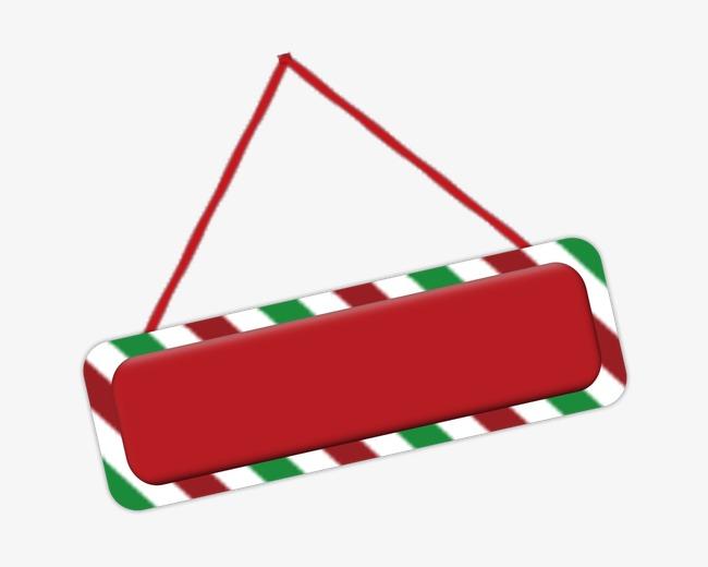 红色花边文字框装饰png素材-90设计