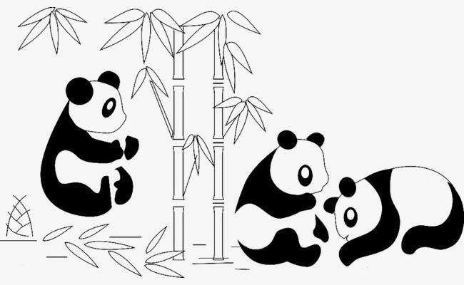 图片 > 【png】 熊猫图片  分类:手绘动漫 类目:其他 格式:png 体积