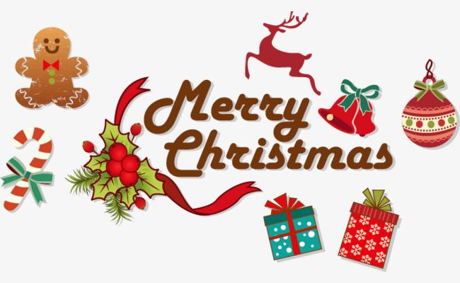 矢量卡通圣诞节装饰图案图片
