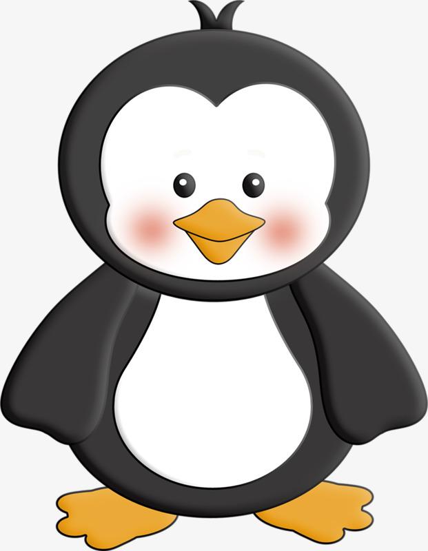 卡通小企鹅图片