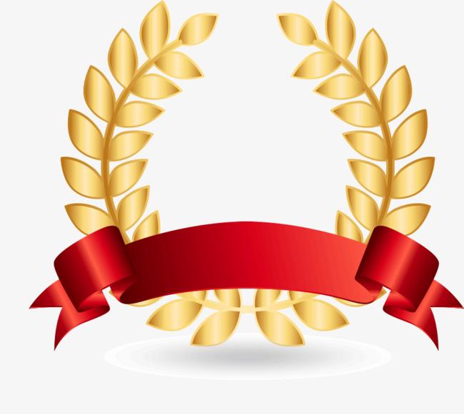 叶子形状奖章图片