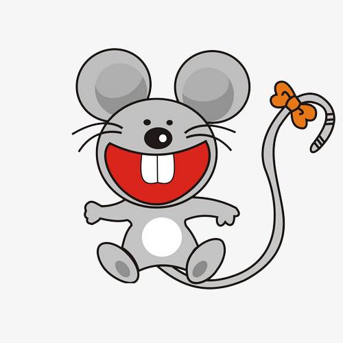 图片 > 【png】 开心的卡通小老鼠  分类:手绘动漫 类目:其他 格式:pn