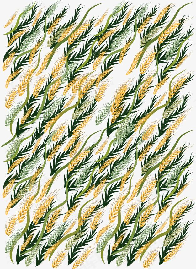 矢量手绘小麦素材图片免费下载 高清装饰图案psd 千库网 图片编号5633036
