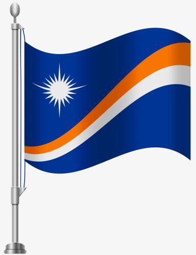 马绍尔群岛国旗
