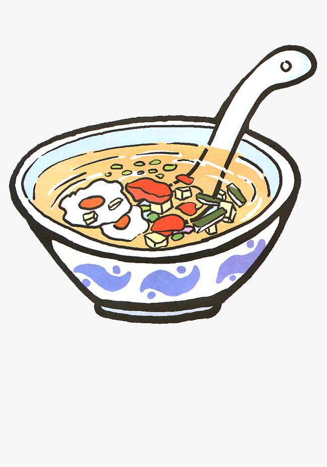 手绘乱炖汤