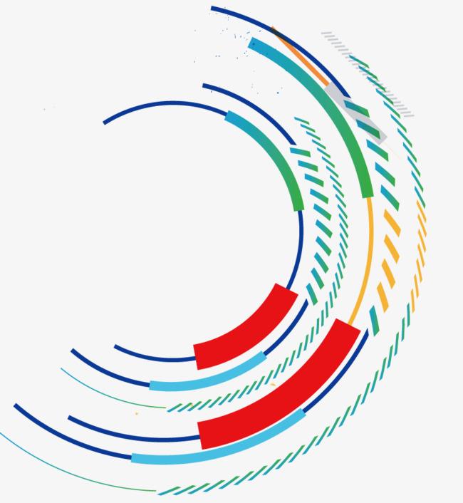 半圆形圈圈