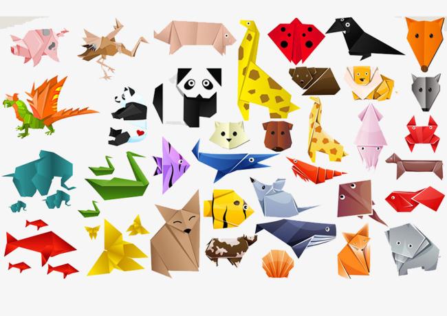 折纸小动物