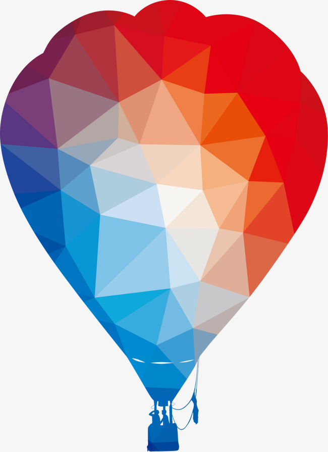 图片 > 【png】 卡通矢量彩色热气球  分类:手绘动漫 类目:其他 格式