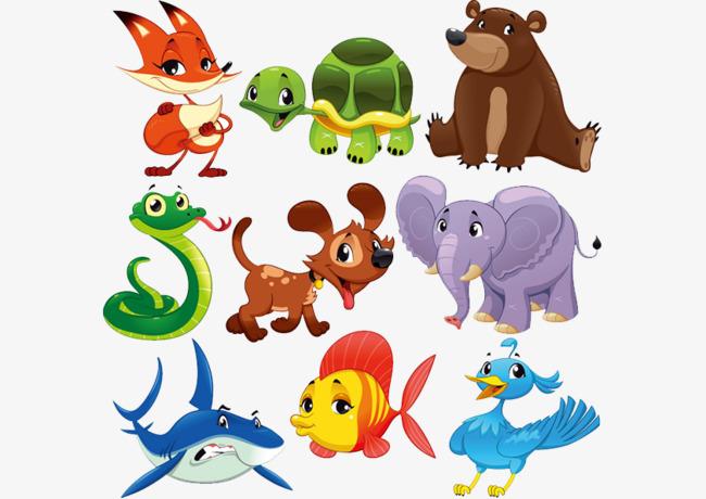 图片 > 【png】 卡通小动物形象  分类:手绘动漫 类目:其他 格式:png