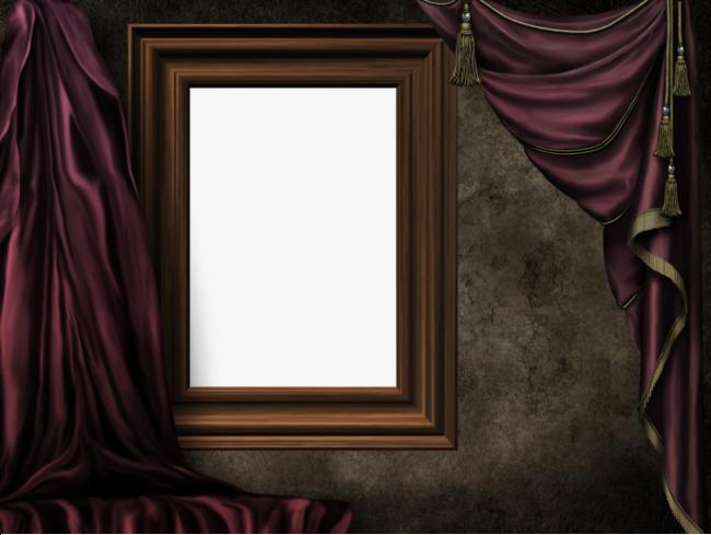 窗户式边框