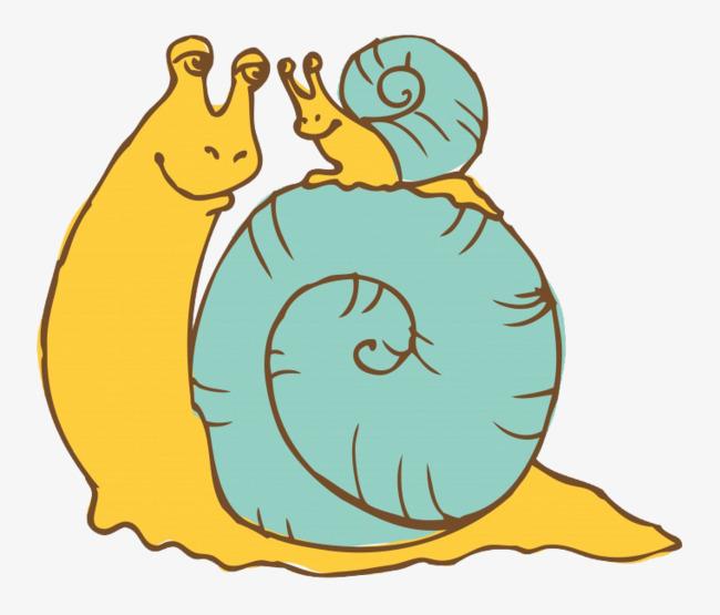 图片 卡通背景 > 【png】 卡通蜗牛  分类:手绘动漫 类目:其他 格式