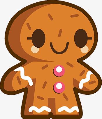 图片 > 【png】 呆萌姜饼人  分类:手绘动漫 类目:其他 格式:png 体积