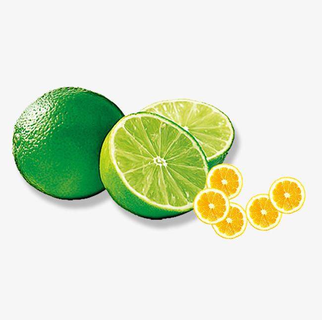 绿橙和黄橙免抠图素材
