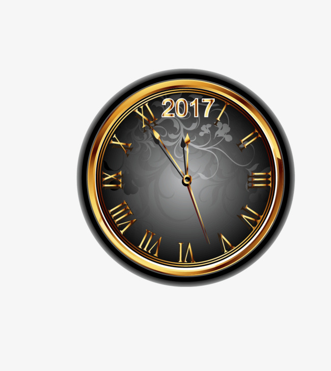 矢量欧式钟表