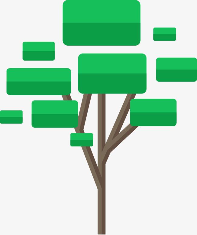 矢量对话框png图片素材绿色