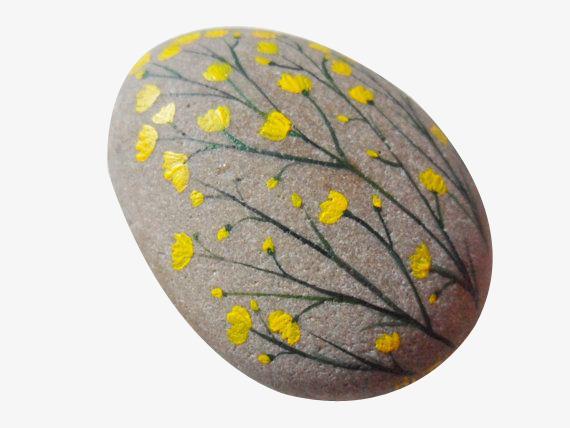 彩绘石头png素材-90设计图片