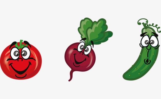 卡通 蔬菜 可爱 调皮             此素材是90设计网官方设计出品,均