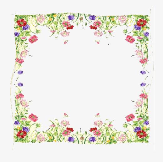 方形花边框