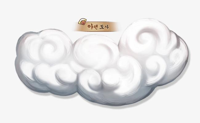 古风手绘云朵