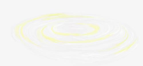 手绘水波纹