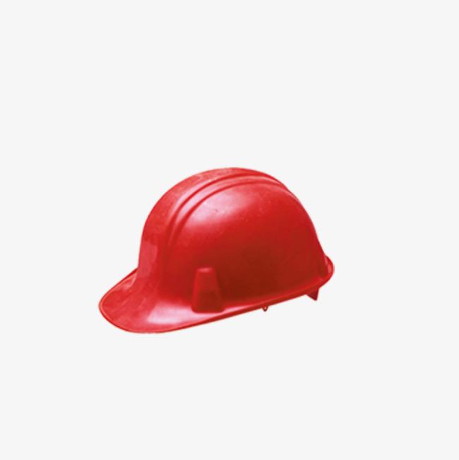 红色安全帽png素材-90设计