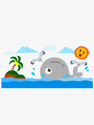 愉快的小鲸鱼