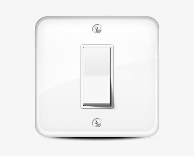 电灯开关png素材-90设计