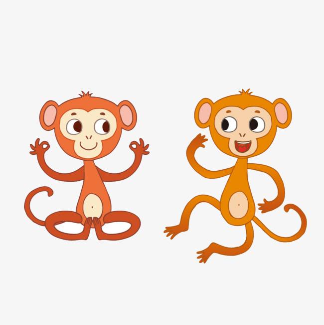 可爱活泼小猴图标