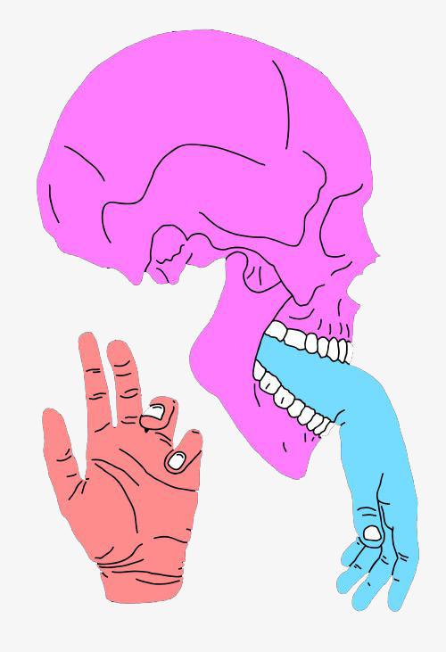 图片 > 【png】 卡通骷髅骨头插画  分类:手绘动漫 类目:其他 格式:pn