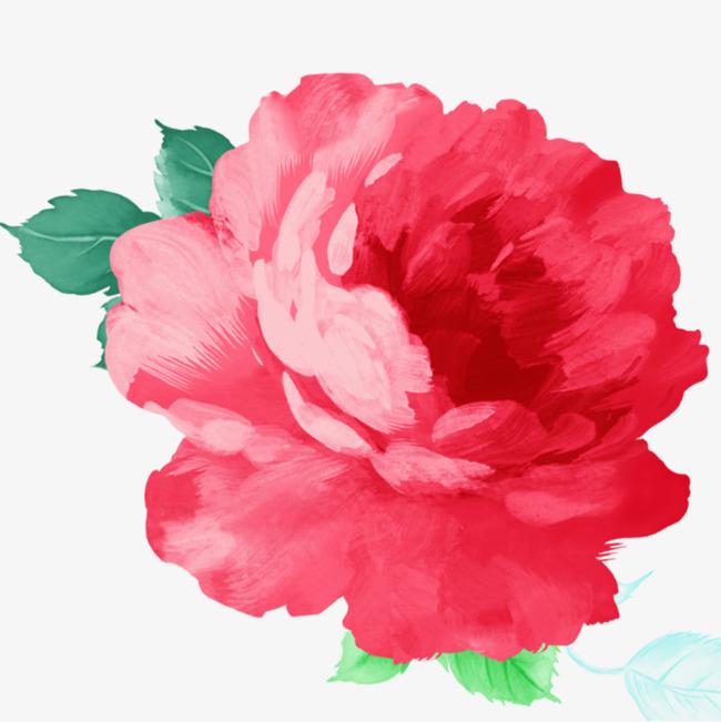 大花牡丹手绘图素材图片免费下载 高清卡通手绘png 千库网 图片编号5852814