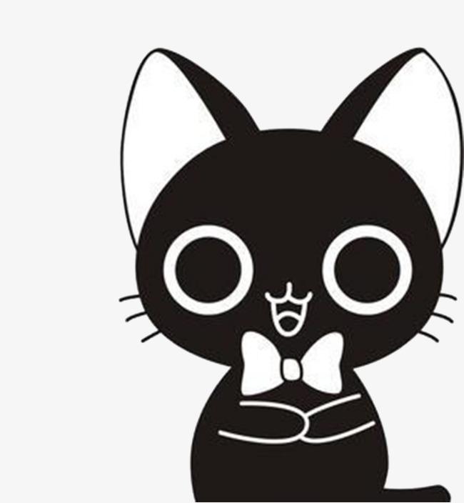 卡通可爱小猫png图片素材