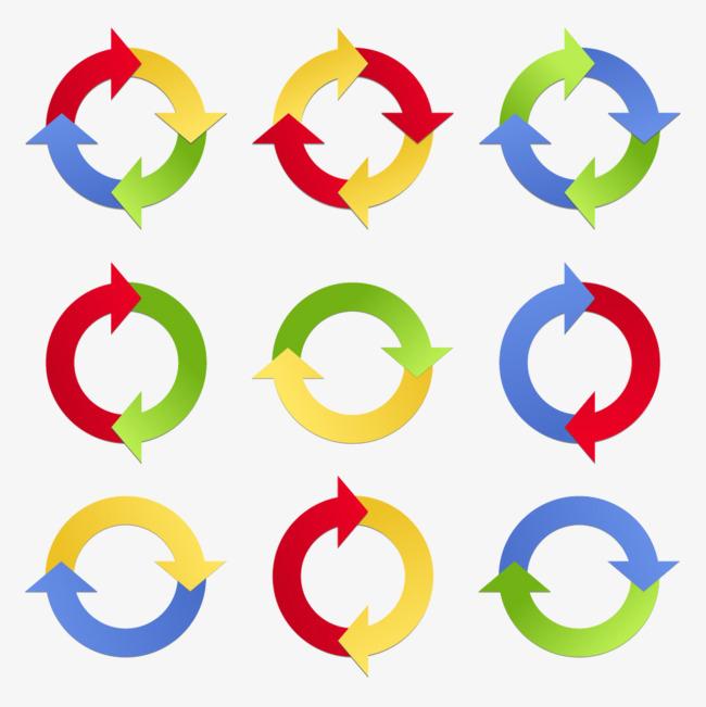 图片 > 【png】 圆形循环箭头  分类:字体设计 类目:其他 格式:png