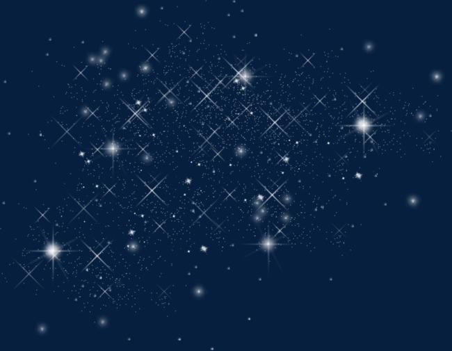 星空图片手绘 简单