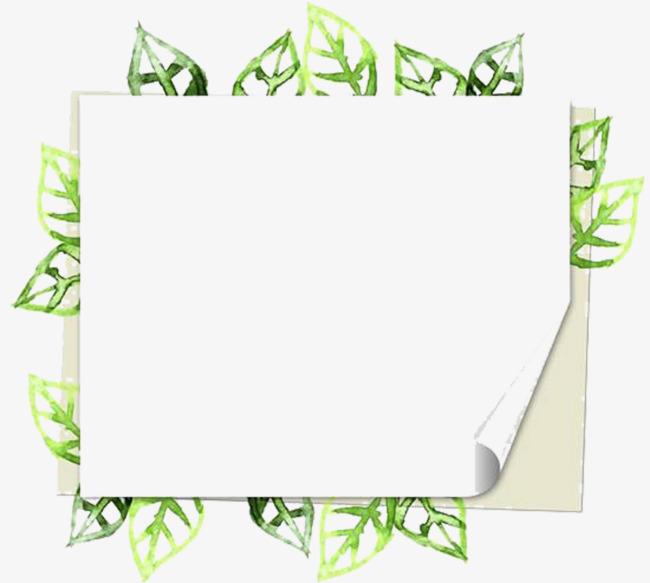 绿叶公布栏图片素材