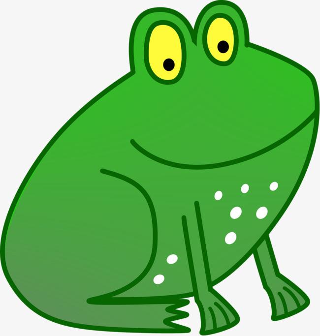 工业风青蛙手绘