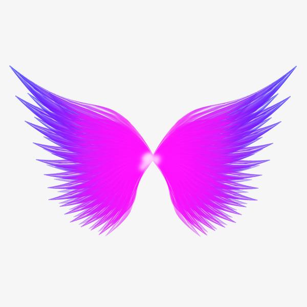 紫色蝴蝶免抠元素