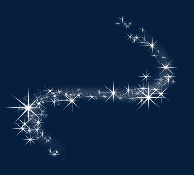 闪光星星图案图片