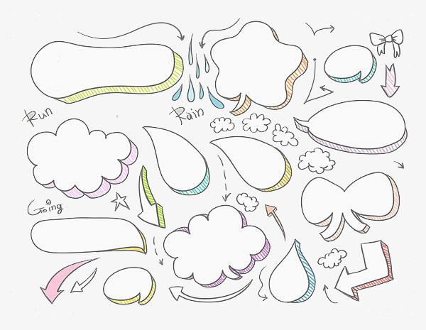 图片 气泡对话框 > 【png】 气泡对话框  分类:手绘动漫 类目:其他 格