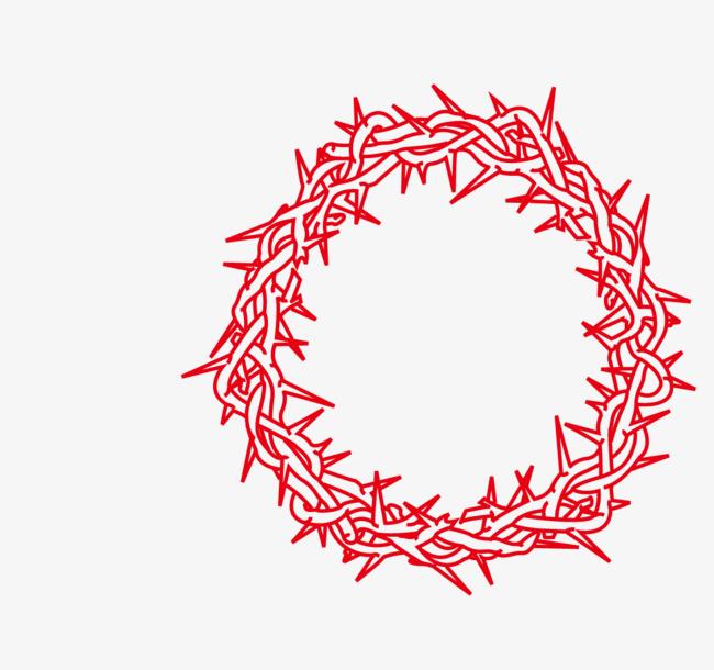 矢量手绘花圈【高清png素材】-90设计