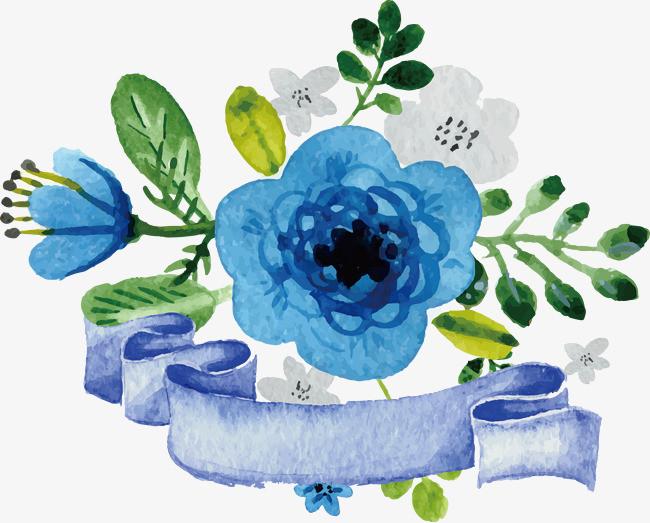 图片 > 【png】 蓝玫瑰矢量素材  分类:手绘动漫 类目:其他 格式:png