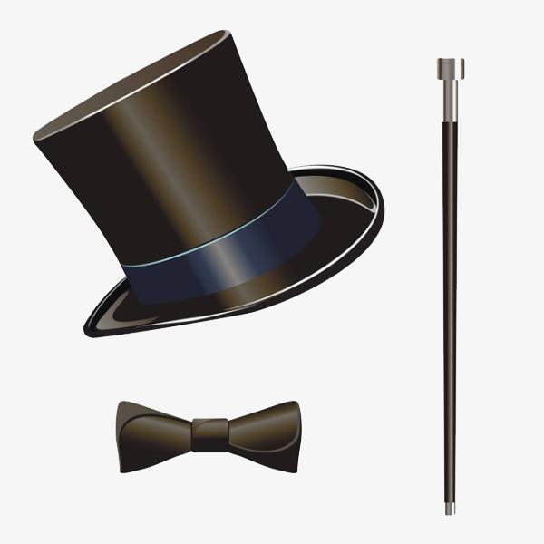 绅士帽绅士手杖