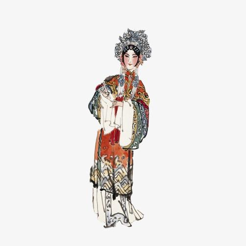 图片 > 【png】 京剧花旦人物素材图片  分类:手绘动漫 类目:其他