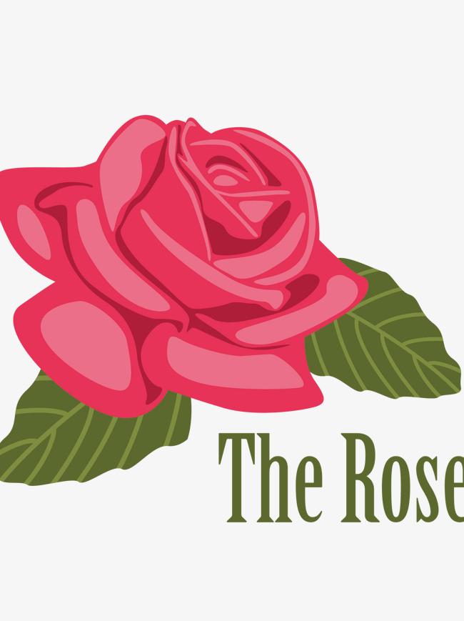 图片 > 【png】 手绘光影红色玫瑰