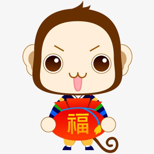 猴子卡通表情图片